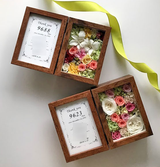 presentsforparents-wedding-wreath-pinkyellow